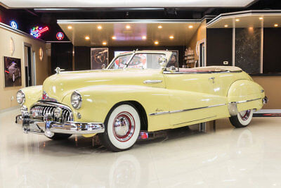 1948 Buick Super Convertible Beautifully Restored! Buick 263ci I8 Engine, 3-Speed Manual, Pwr Top, Pwr Window
