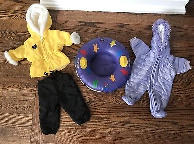 American Girl Pleasant Co Winter Snow Outfits & Tube