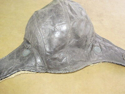 Vintage Antique Pilots Cap Hat USAF Air Force Vintage Boys Bomber WWII