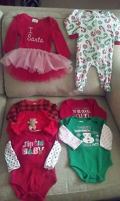 Christmas clothing lot 3-6 months