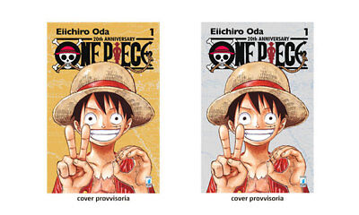 ONE PIECE 20th ANNIVERSARY n.°1 - GOLD Edition Eiichiro Oda Lucca Comics 2017