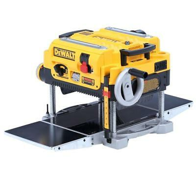 DEWALT [DW735X] 15Amp 13 in Heavy-Duty Thickness Planer with Knives + Tables (9)