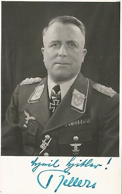 WW2 LUFTWAFFE GENERAL OBERST KELLER POUR L'MERITE KNIGHTS CROSS POBiG WAR SGND.F
