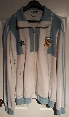 Adidas Originals Argentina 1978 World Cup Track Top Size XL