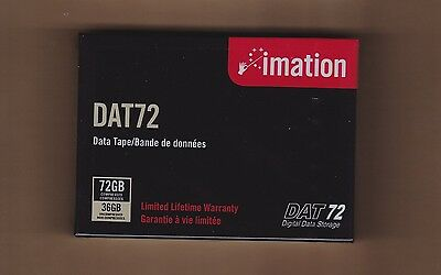 IMATION DAT72/DAT-72 Data Tape/Cartridge 36/72GB DDS5/DDS-5 NEW
