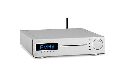 AVM Inspiration CS 2.2 Streaming CD-Receiver in Silber neu in OVP