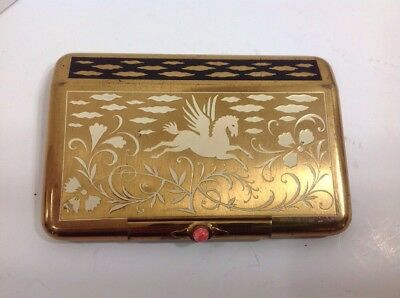 Vintage Yardley New York Gold Colored Compact
