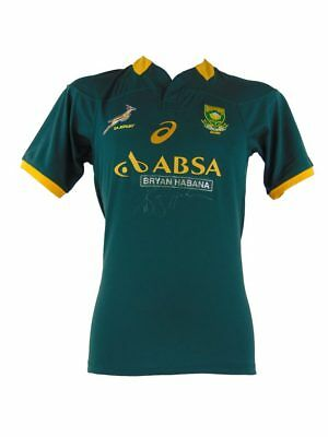Bryan Habana Signed South Africa Springboks Rugby Shirt + *coa*