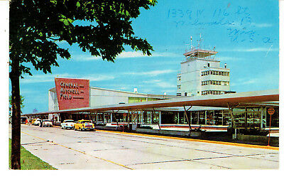 1957 PPC The Air Terminal at General Mitchell Field - Milwaukee, Wisconsin
