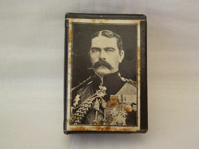 Ww1 Lord Kitchener 1916 Metal Matchbox Holder