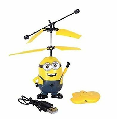Flying Minions with  Remote Control Drone Helicopter  Despicable Me Toy