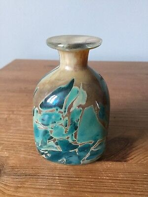 A Pretty Mdina Studio Glass Vase