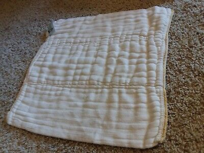 12 Nicki's Diapers Bamboo Prefolds Size Medium GUC