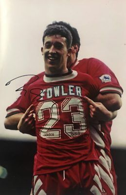 Robbie Fowler Signed Huge 12 X 18 Liverpool Football Photo+Photo Proof*See Sign*