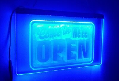 Neon Sign - Come In We're Open