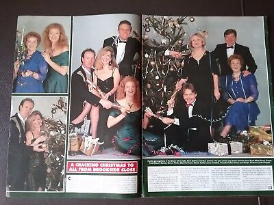 Brookside Tv Soap Magazine Article Clipping