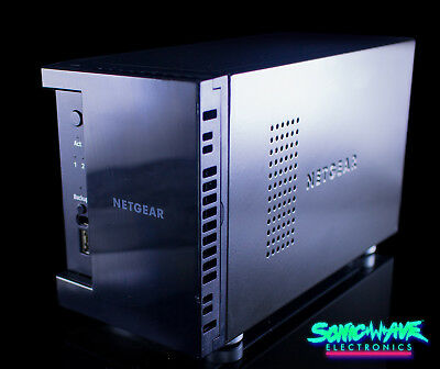 NETGEAR ReadyNAS NAS Network Attached Storage Server Enclosure 2 Bay Case 102