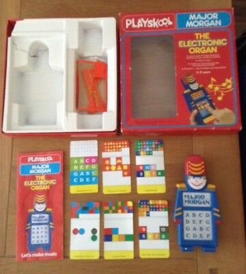 Playskool Major Morgan 1979 Boxed Instructions Handheld Game Vintage Retro