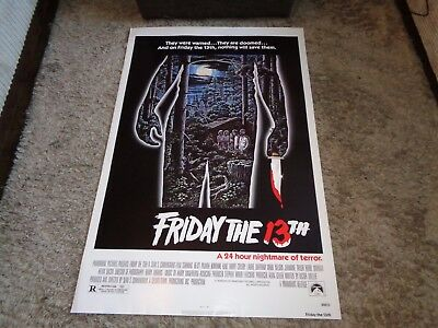 Friday The 13Th Us One Sheet