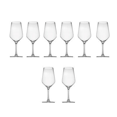 NEW Set of 8 Tasting Hour White Wine Glasses Noritake Glasses