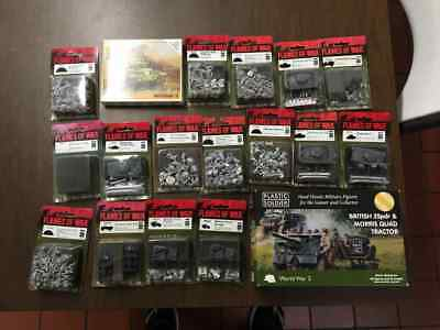 Flames of War - BRITISH -  MASSIVE Store Buyout Blister Lot - FOW