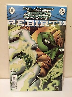 DC Comics Hal Jordan And The Green Lantern Corps Rebirth #1