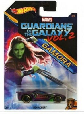 Hot Wheels Gamora Guardians of The Galaxy Vol 2 Marvel Collectible 4/8