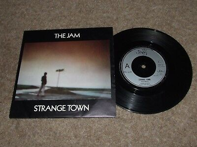 THE JAM = STRANGE TOWN / THE BUTTERFLY COLLECTOR 7inch PICTURE SLEEVE EDITION