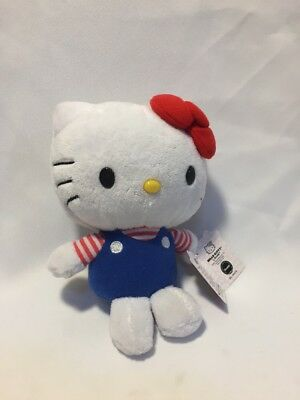"""Hello Kitty Plush By Just Play (Sanrio) 7"""" New With Tags"""