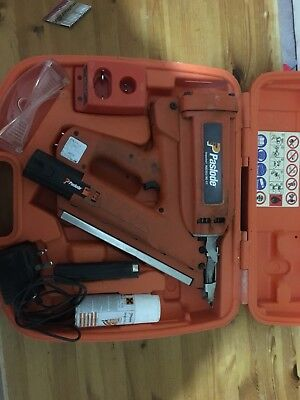 PASLODE IMPULSE IM 350/ 90 CT First fix nail gun that comes boxed and 2x batt