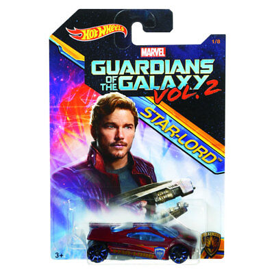 Hot Wheels Star-Lord Guardians of The Galaxy Vol 2 Marvel Collectible 1/8 Disney