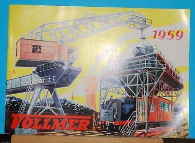 Vintage  - Vollmer Catalogue - 1959 - Railway Buildings & Accessories Etc
