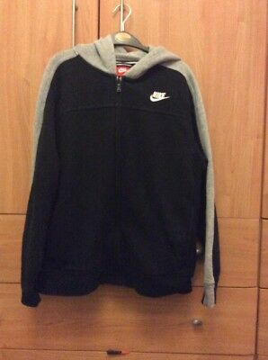 Boys Nike Hooded Tracksuit Top Age 12-13 Years
