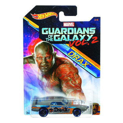 Hot Wheels Drax Guardians of The Galaxy Vol 2 Marvel Collectible 2/8 DWD73-0910