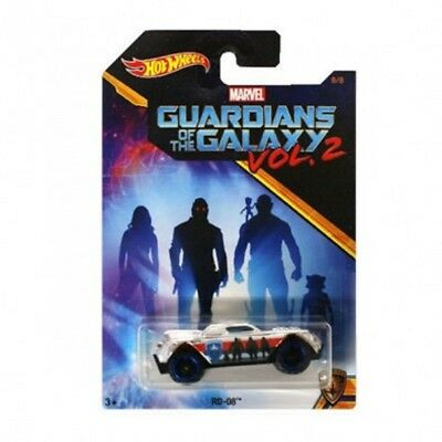 Hot Wheels RD-08 Guardians of The Galaxy Vol 2 Marvel Collectible 8/8 DWD79-0910
