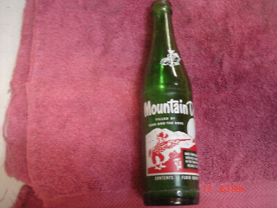 Vintage 10 Oz. Mountain Dew Bottle (Filled By Yose And The Boys)