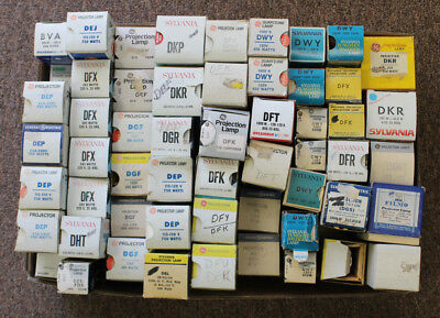 Lot Of 150 Assorted Projection Bulbs