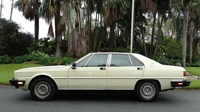 1982 Maserati Quattroporte LUXURY SEDAN 1982 MASERATI QUATTROPORTE ULTRA LUXURY SEDAN 39,000 REAL MILES IN GREAT SHAPE
