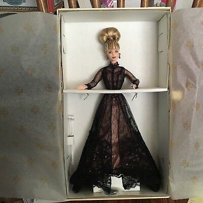 Barbie Doll Nolan Miller Sheer Illusion Beautiful Couture Collection 1998