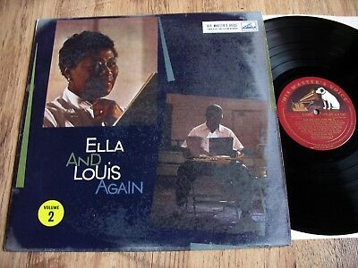 Ella Fitzgerald & Louis Armstrong, Ella & Louis Again Vol 2, Orig 1957 Uk Hmv Lp
