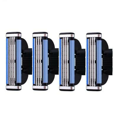 New Useful 4Pcs Man Shaver Razor Refills Blade for Gillette Mach3 Trimmer Kit