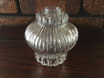 VINTAGE 30'S 40'S DECO LIGHT COVER - Glass in VGC