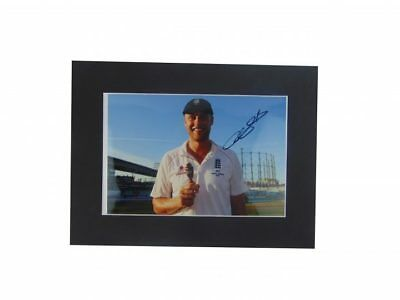 Andrew Flintoff Signed England Cricket Ashes Winners Display + *coa*