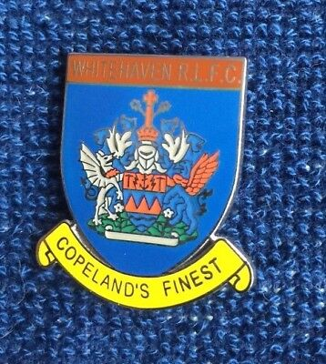 Rugby League Badge Whitehaven