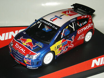 Citroen C4 Red Bull World Champion Loeb Ninco/  Scalextric Nuevo A Estrenar