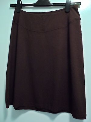 Isabella Olivier Maternity Brown Skirt Size 10