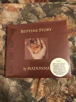 Madonna Bedtime Story CD Book Limited Edition Sealed