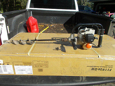 """Echo EDR‑2400 Engine Handheld Gas Powered Drill Runs Comes with 22"""" Drill Bit"""