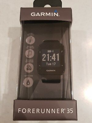 Garmin Forerunner 35, GPS Sports watch, black in box