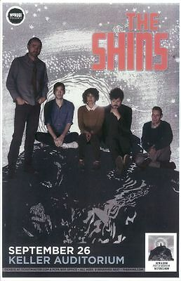 THE SHINS 2012 Gig POSTER Portland Oregon Concert